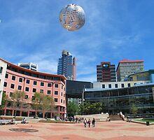 Flying Ball by Robin Veldhuis
