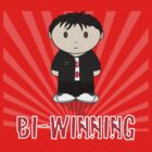 Charlie Sheen Bi-Winning Mini Folk  by Leebo616