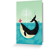 The Bird and The Whale Greeting Card