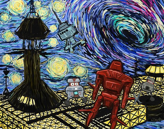 Van Gogh- The Black Hole  by Jerry Bennett