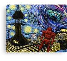 Van Gogh- The Black Hole  Canvas Print