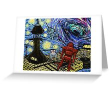 Van Gogh- The Black Hole  Greeting Card