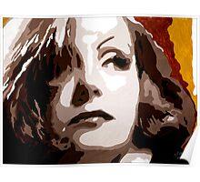 Greta Garbo in Brown 001 Poster