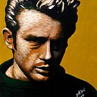 James Dean in Yellow 002 by Greg Allen