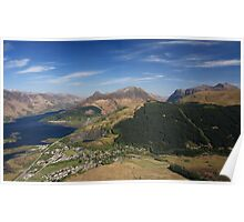 Ballachulish,Loch Leven and the Pap Of Glencoe. Poster