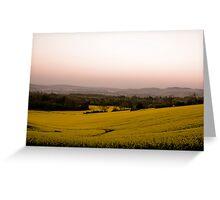 Surrey Sunrise Greeting Card