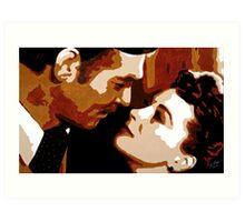 Rhett and Scarlett 001 Art Print
