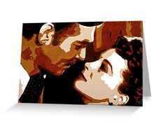 Rhett and Scarlett 001 Greeting Card