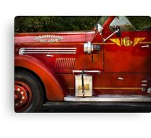 Fireman - Garwood Fire Dept Canvas Print
