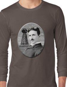 Nikola Tesla - Legends of Science Series Long Sleeve T-Shirt