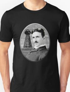Nikola Tesla - Legends of Science Series Unisex T-Shirt