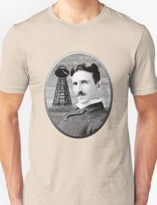 Nikola Tesla - Legends of Science Series T-Shirt
