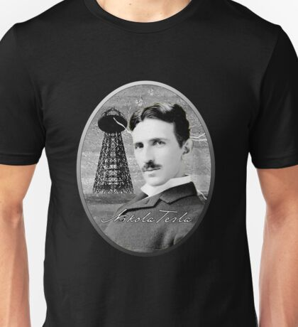 Nikola Tesla - Legends of Science Series Unisex T-Shirt
