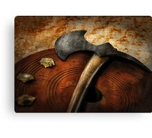 Fireman - The fire axe  Canvas Print