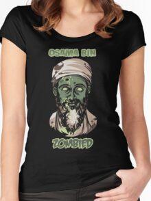 Osama Bin Zombied Women's Fitted Scoop T-Shirt