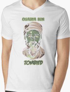 Osama Bin Zombied Mens V-Neck T-Shirt