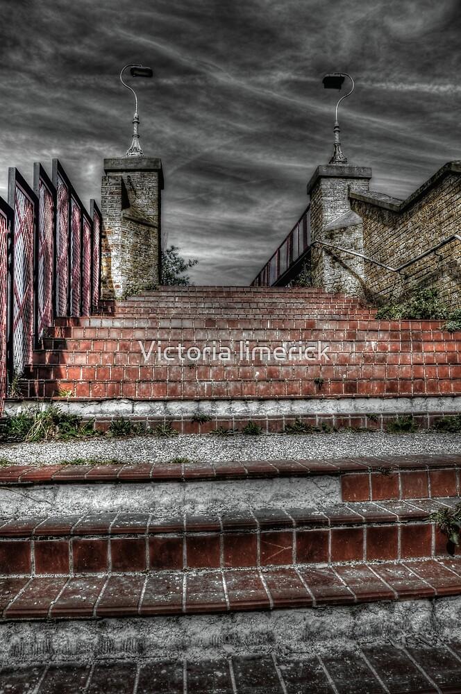 Broken steps - Burgess park by Victoria limerick