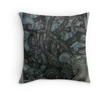 The Kraken Throw Pillow