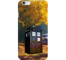 Tardis Autumn iPhone Case/Skin
