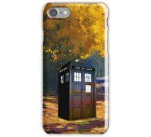 Tardis Autumn iPhone Case/Skin