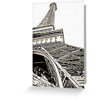 Effiel Tower Greeting Card