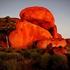"""Sunrise"" Part of Australian Landscape series by Martin Dingli"