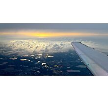 Up Above The Clouds Photographic Print