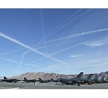 turbulent skies  Photographic Print