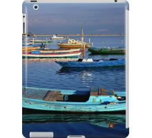 Gaitas in the lagoon of Messolonghi iPad Case/Skin