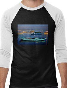 Gaitas in the lagoon of Messolonghi Men's Baseball ¾ T-Shirt
