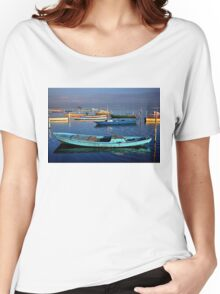 Gaitas in the lagoon of Messolonghi Women's Relaxed Fit T-Shirt