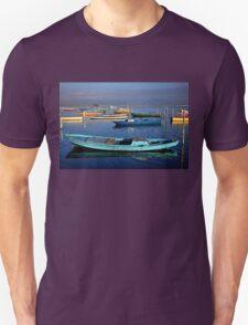 Gaitas in the lagoon of Messolonghi Unisex T-Shirt