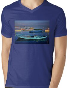 Gaitas in the lagoon of Messolonghi Mens V-Neck T-Shirt