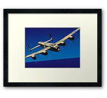 Avro Lancaster Bomber Framed Print