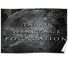 Tahoe Heritage Foundation Poster