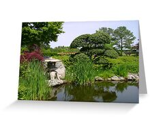 Norfolk Botanical Gardens Greeting Card