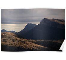 A sunlit ridge - Grampians Poster