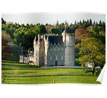 Castle Fraser Poster