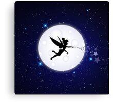 Elf Starry Night Canvas Print