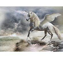 I am Pegasus Photographic Print