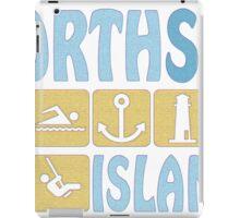 NORTH SEA ISLAND iPad Case/Skin