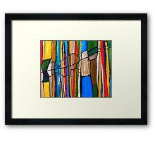 Landscape A  (completed) Framed Print