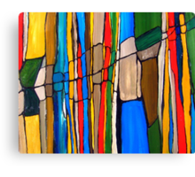Landscape A  (completed) Canvas Print
