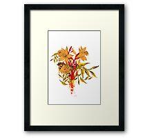 Organic System Framed Print