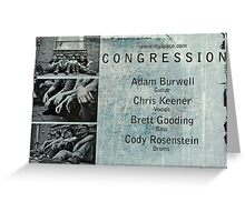 Congression Greeting Card
