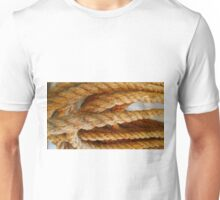 Brown Cord Unisex T-Shirt