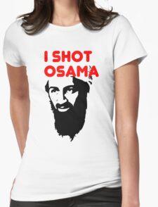 I shot Osama Womens Fitted T-Shirt