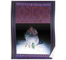 Shipibo shaman Poster