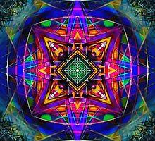 Mandala Digital Nu Dop invert by relplus