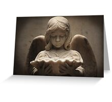 Weeping Angel 1 Greeting Card
